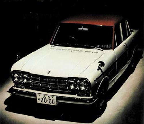 Nissan Skyline All Generations: 2nd Generation Nissan Skyline: 1963 Prince Skyline 2000 GT