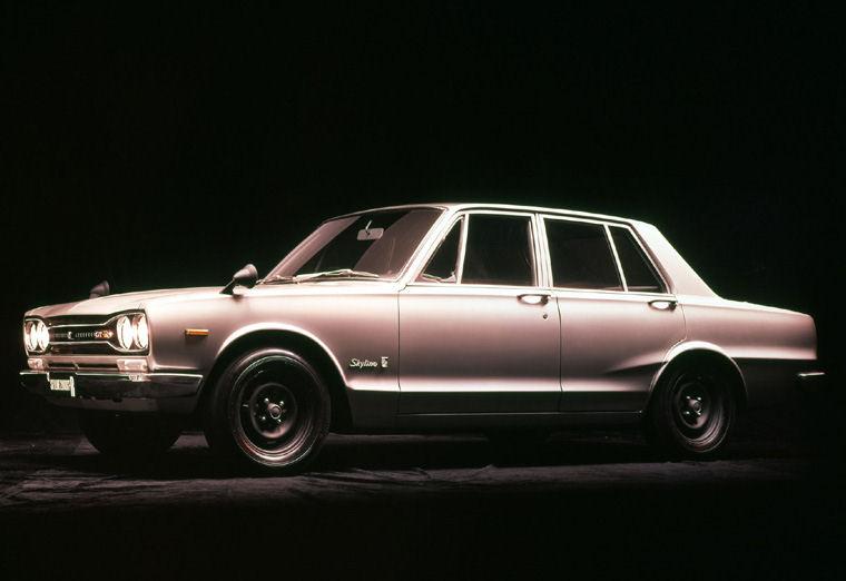 3rd Generation Nissan Skyline 1969 Nissan Skyline 2000 Gt
