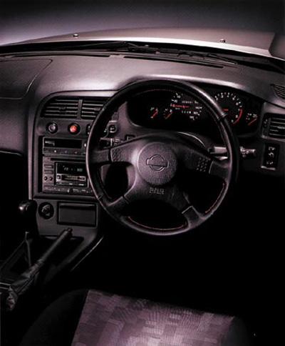 R33 Nissan Skyline Sedan Cockpit - Picture / Pic / Image