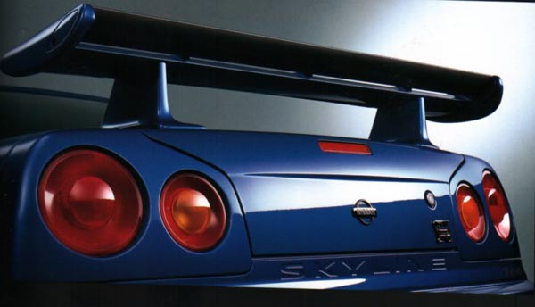 R34 Nissan Skyline Gt R Tail Light Picture Pic Image