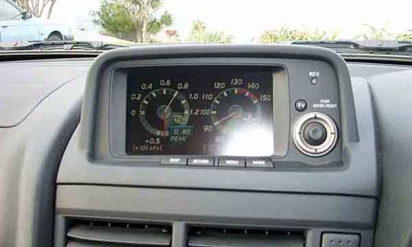 R34 Nissan Skyline Gt R Dashboard Screen Picture Pic