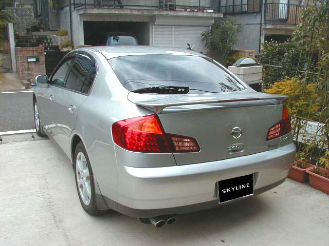 V35 Nissan Skyline Sedan Picture Pic Image